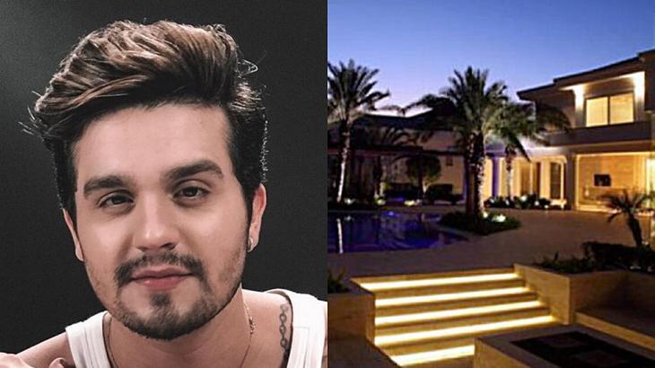 Luan Santana é dono de uma mansão em Alphaville - Foto: Montagem