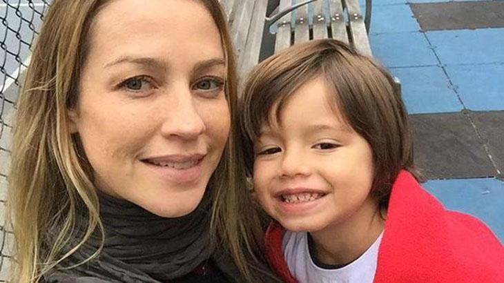 Luana Piovani ao lado do filho Dom - Reprodução/Instagram