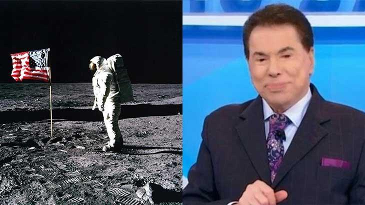 Há 50 anos, só ida do homem à Lua deu mais Ibope que Silvio Santos