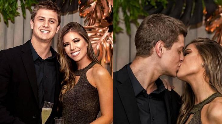 Lucas e sua namorada Juliana Xavier - Foto: Reprodução/Instagram