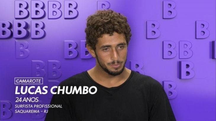 BBB20: Lucas Chumbo foi salvo após