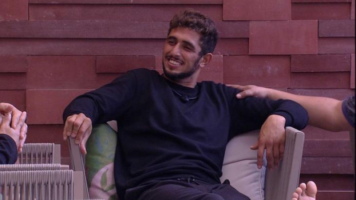 Lucas Chumbo é integrante do grupo Camarote no BBB20 - Globo
