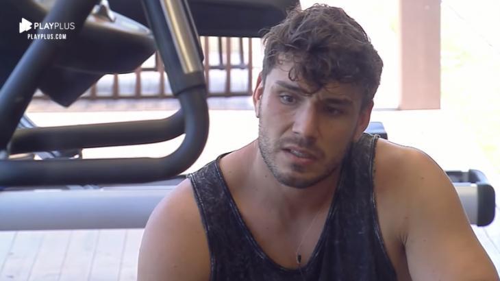 Lucas Viana desabafou sobre medo no reality show A Fazenda 2019. (Reprodução)