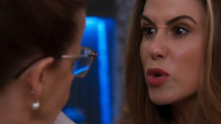 Dominique encara Lúcia, furiosa