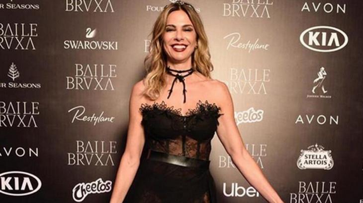 Luciana Gimenez no Baile da Bruxa - Foto: Reprodução/Instagram