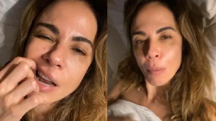 Coberta por lençol, Luciana Gimenez conta como dorme: