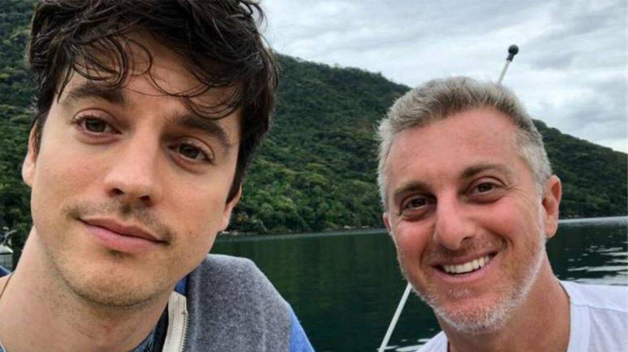 Luciano Huck e Fernando Grostein