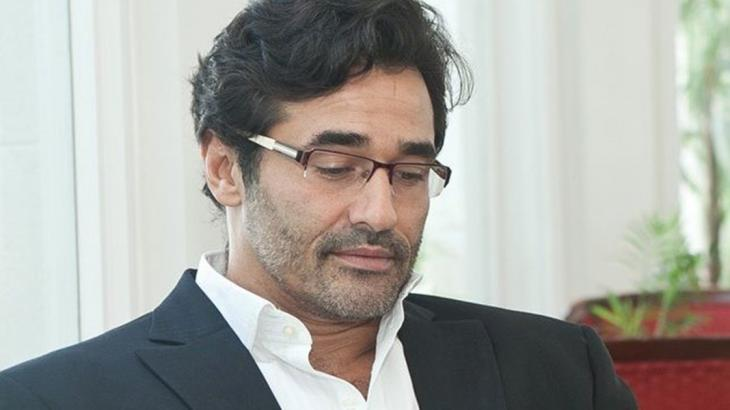 Luciano Szafir cabisbaixo