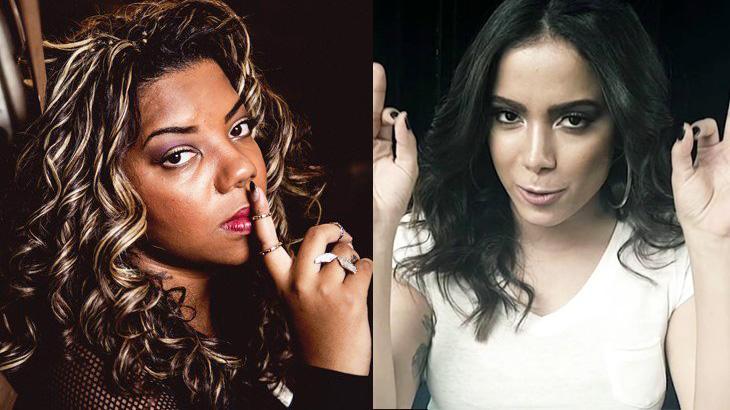 Ludmilla e Anitta brigaram por autoria de música
