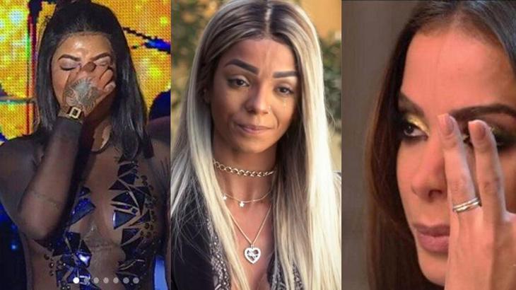 Brunna Gonçalves se envolveu na polêmica entre Anitta e Ludmilla - Foto: Montagem