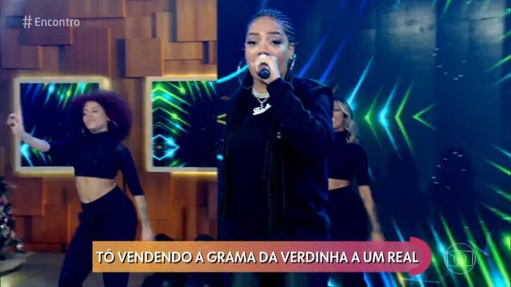 Ludmilla no Encontro - Foto: Reprodução/Globo