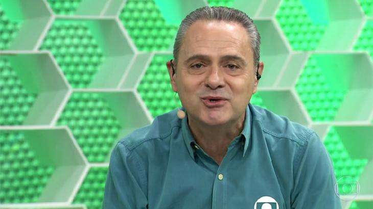 Luis Roberto irá transmitir Cruzeiro e Internacional - Foto: Reprodução/Globo