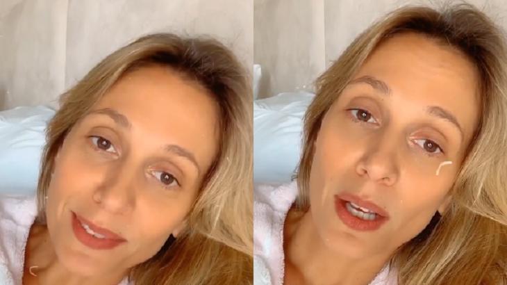 """Com coronavírus, Luisa Mell se preocupa com o marido: """"Não está melhorando"""""""