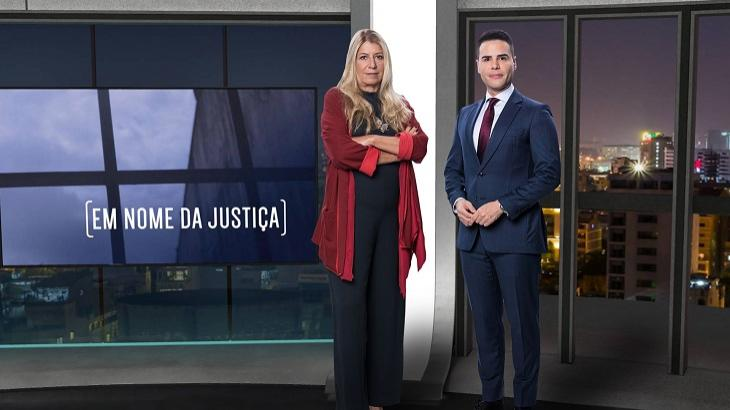 Luiz Bacci e Ilana Casoy no Em Nome da Justiça - Foto: Antonio Chahestian/Divulgação Record TV