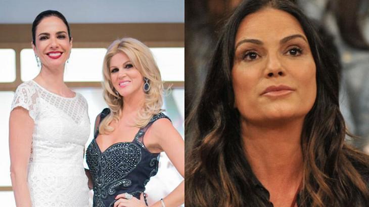 Val Marchiori e Luciana Gimenez entraram em conflito com Luiza Brunet - Foto: Montagem