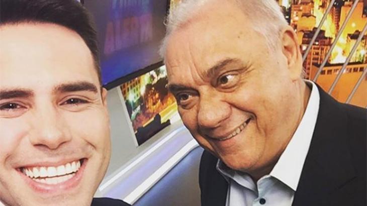 """Luiz Bacci lembra uma semana da morte de Marcelo Rezende: """"o legado é eterno"""""""
