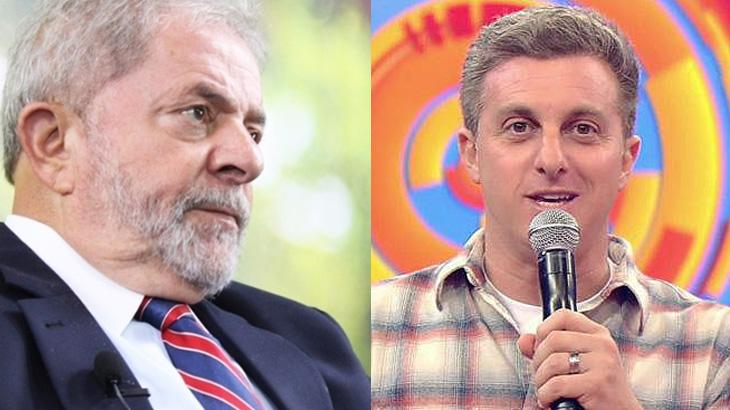 Lula provoca Luciano Huck: