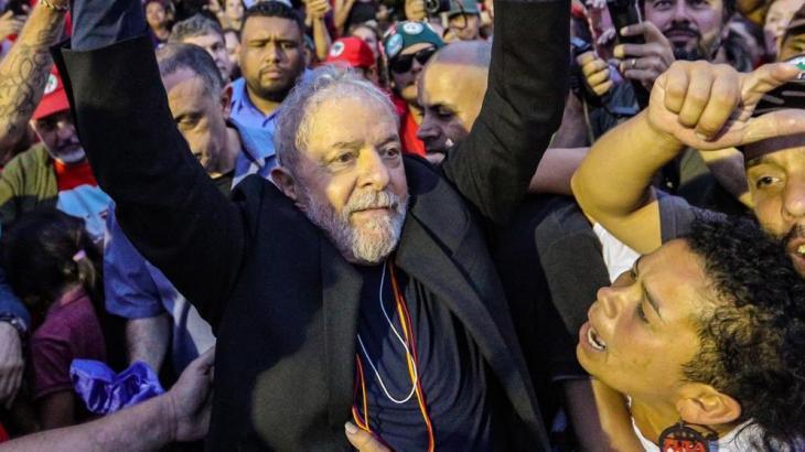 Lula fez duras críticas à imprensa neste sábado (9) (Foto: Ricardo Stuckert/Divulgação)
