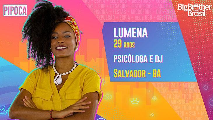 A psicóloga e DJ Lumena tem 29 anos e é de Salvador, na Bahia