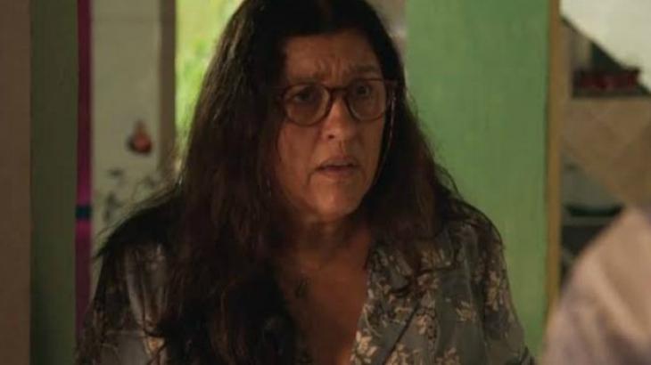 Lurdes preocupada em Amor de Mãe - Divulgação/TV Globo