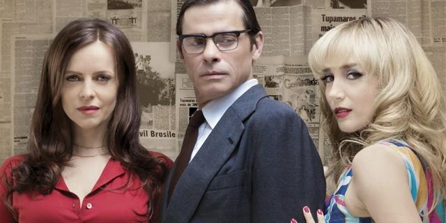 Maira Luisa Mendonça, Marcos Winter e Simone Spoladore em