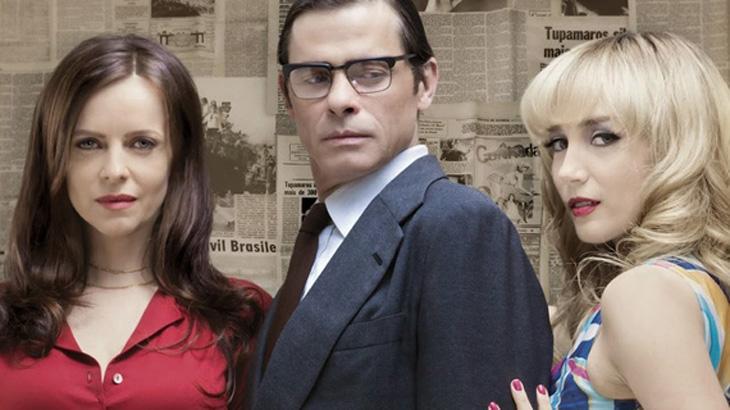Maria Luisa Mendonça, Marcos Winter e Simone Spoladore - Divulgação/HBO