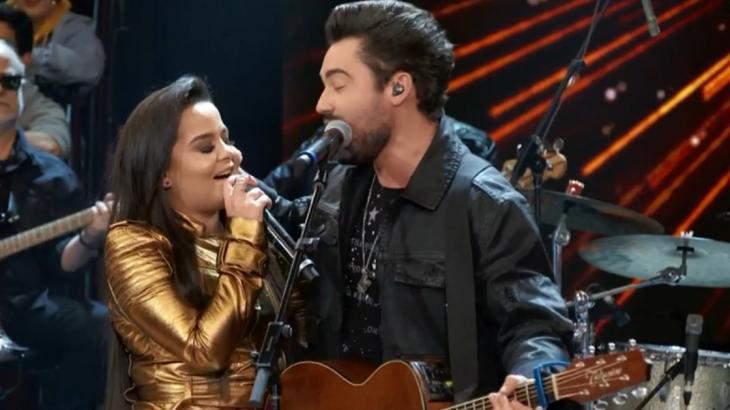 Maiara e Fernando cantaram