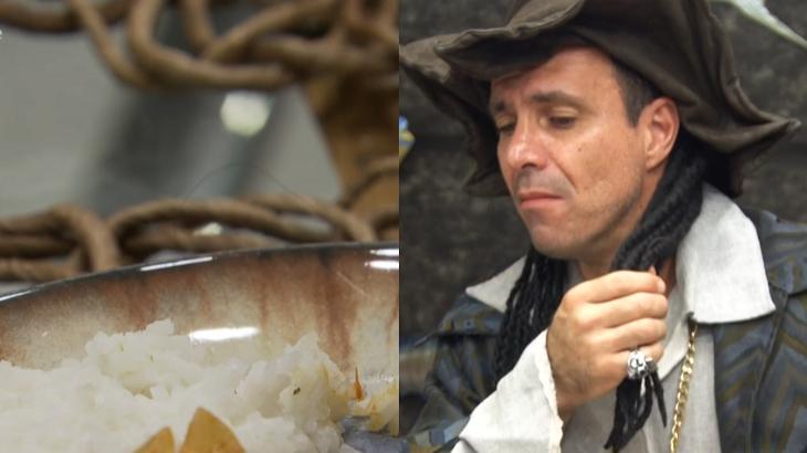 Cabelo encontrado na comida no Mais Você - Foto: Reprodução/Globo