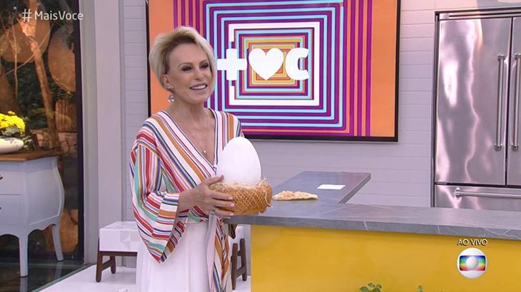 Ana Mria Braga é apresentadora do