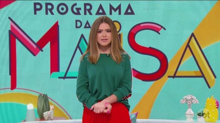 Maisa, durante pronunciamento sobre Suzano - Foto: Reprodução