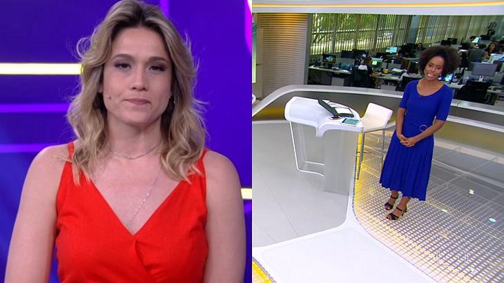 Maju Coutinho e Fernanda Gentil - Foto: Montagem