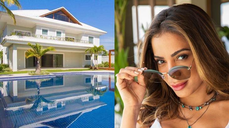 Anitta está em sua mansão na quarentena - Foto: Montagem