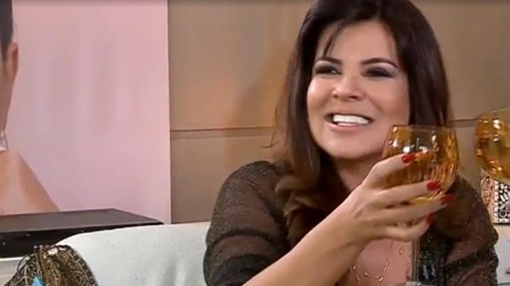 Mara Maravilha no Sensacional - Reprodução/RedeTV!