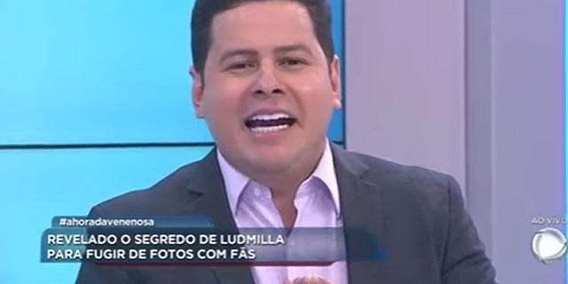 """Apresentador do """"Balanço Geral"""" chama Ludmilla de """"macaca""""; cantora responde"""