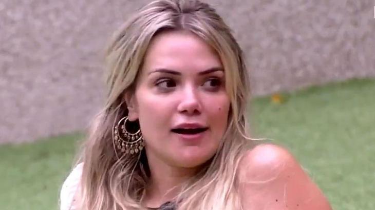 Marcela durante o reality show BBB20