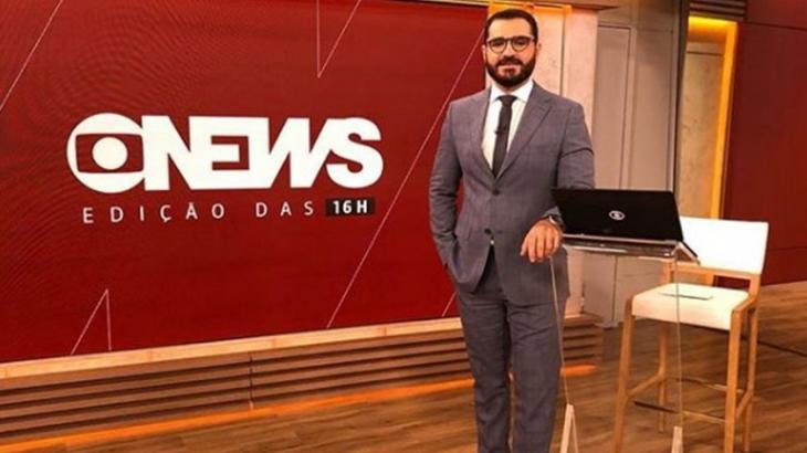 Marcelo Cosme, apresentador da GloboNews, assume namorado em rede social