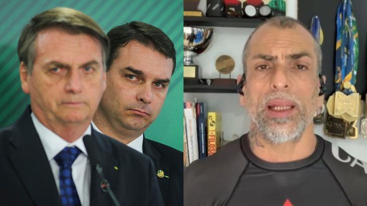 Marcelo Dourado criticou Flávio Bolsonaro