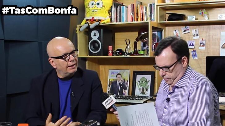 """Em entrevista, Marcelo Tas admite: """"Já votei no Lula"""""""