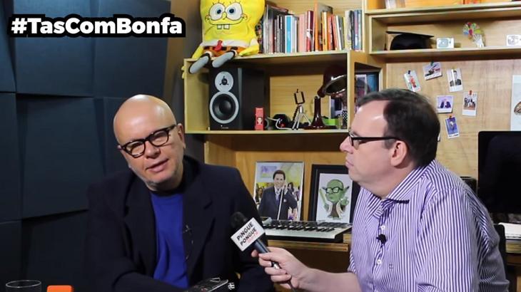 Marcelo Tas conversou com Marcelo Bonfá - Foto: Reprodução/Youtube
