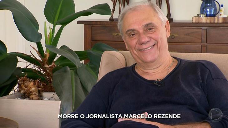 """Reinaldo Gottino chora ao noticiar a morte de Marcelo Rezende: \""""muito difícil\"""""""