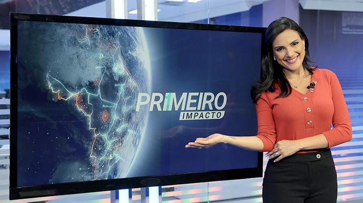 SBT oficializa Márcia Dantas no Primeiro Impacto, que passa a ter três apresentadores