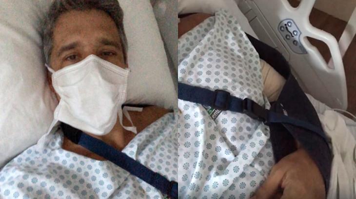 Márcio Garcia deu detalhes do estado de saúde - Foto: Reprodução/Montagem