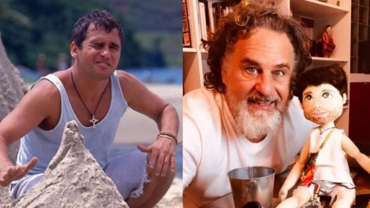 Marcos Frota deu vida ao personagem Tonho da Lua na novela Mulheres de Areia, de volta no Globoplay