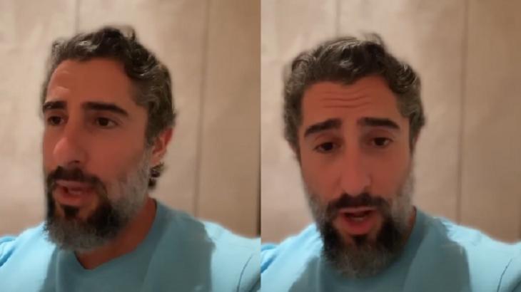 Marcos Mion falou com seus seguidores - Foto: Reprodução/Instagram