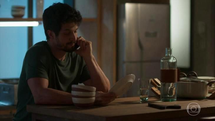 Marcos pensa em desistir de Paloma em Bom Sucesso - Reprodução/TV Globo