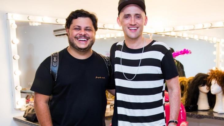 Marcus Majella e Paulo Gustavo