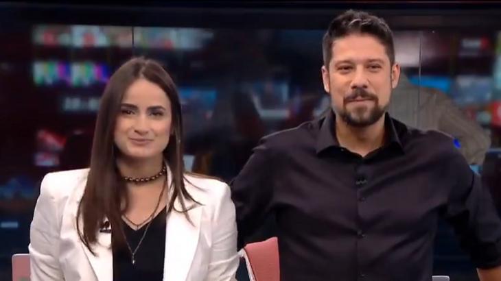 Em estreia na CNN Brasil, Mari Palma se emociona e interrompe colega