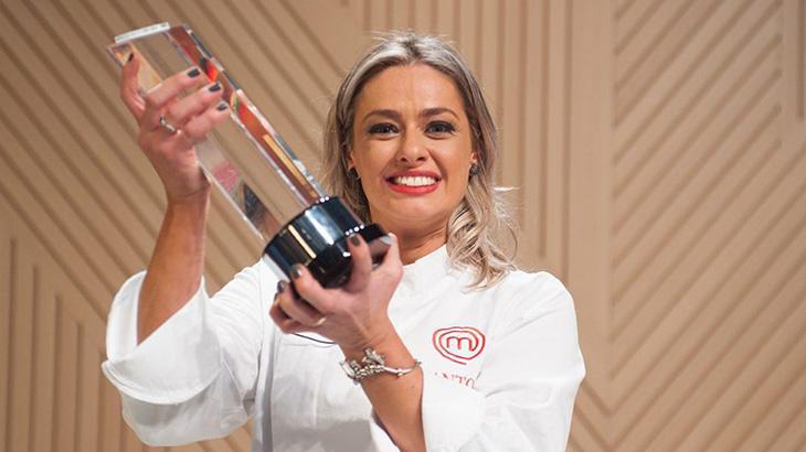 Maria Antonia conquistou o MasterChef em 2018 - Divulgação/Band