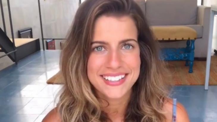 Maria Bopp sorrindo