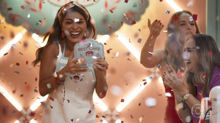 Maria da Paz vencedora do Best Cake - Foto: Reprodução/Globo
